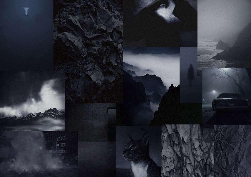 moodboard edge of the night